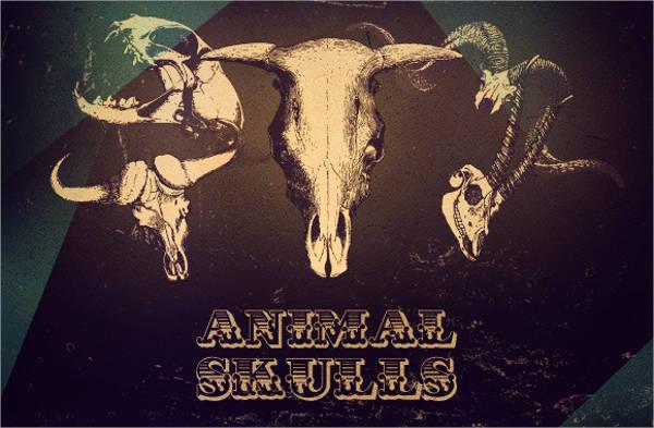 animal-skull-vector