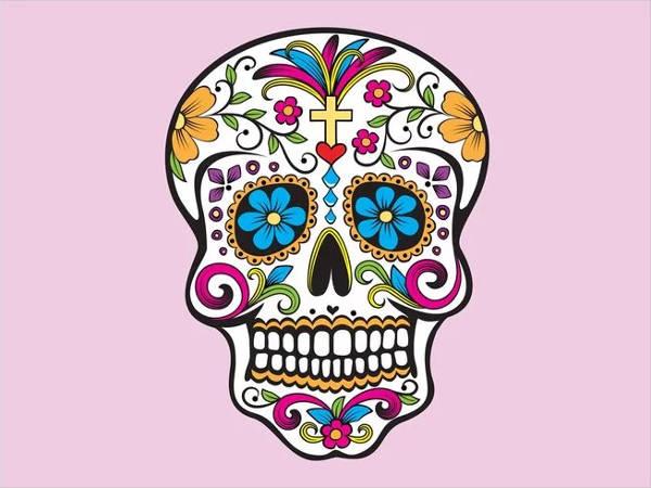 mexican-skull-vector