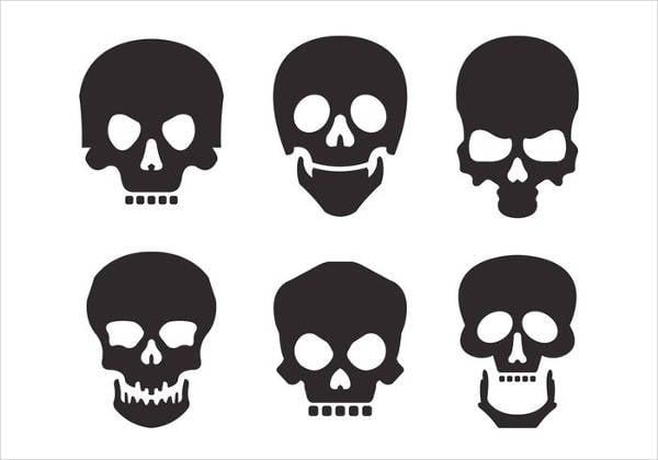 skull-silhouette-vector