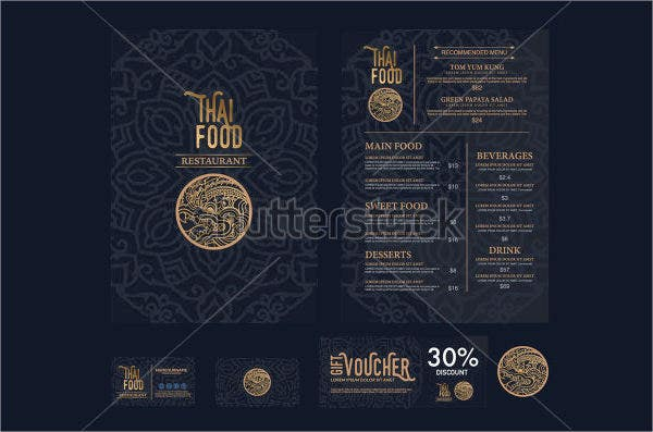 luxury-restaurant-menu-design