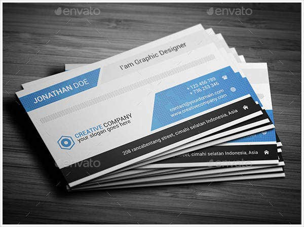 Sample Yoga Business Card