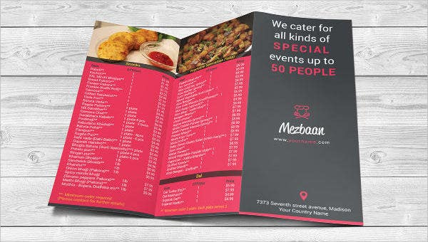 food menu template 35 free word pdf psd eps.html