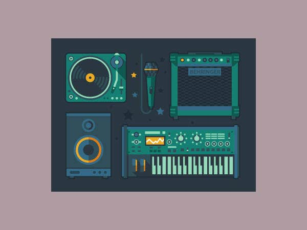 musical-instruments-icons