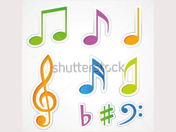 sticker-set-music-icons