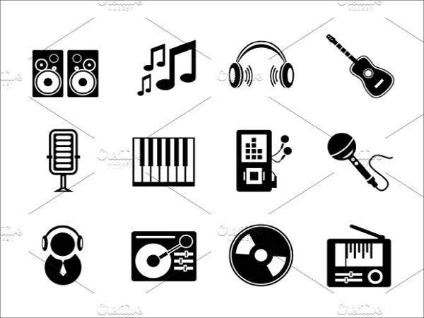 vector-music-line-icons