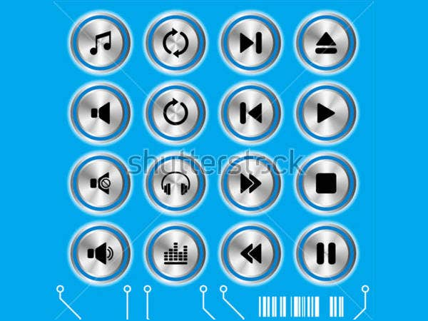 blue-vector-music-icons