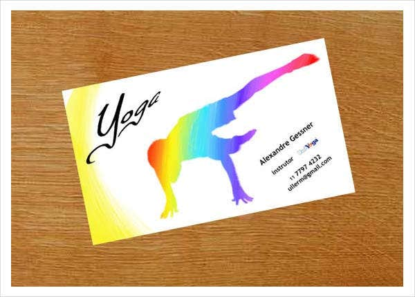 Yoga Business Card - 9+ Free PSD, Vector EPS, PNG Format Download ...