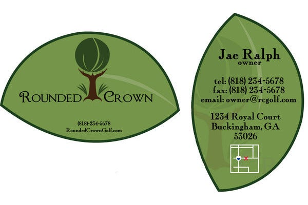 Simple Leaf Business Card