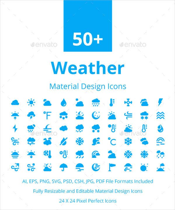 weather-material-design-icons