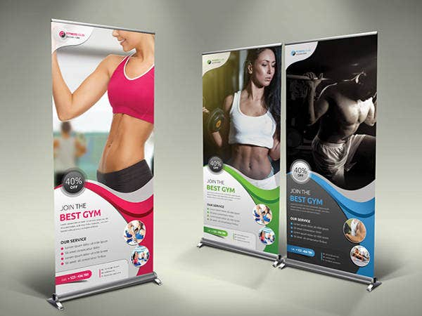 free roll up banner templates1