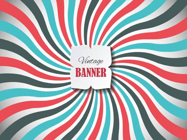 free vintage banner templates1