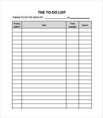 To Do Checklist  NinjaTurtletechrepairsCo