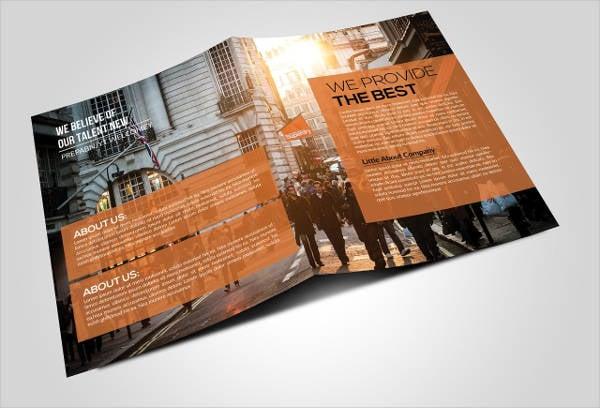 Business Bi Fold Brochure