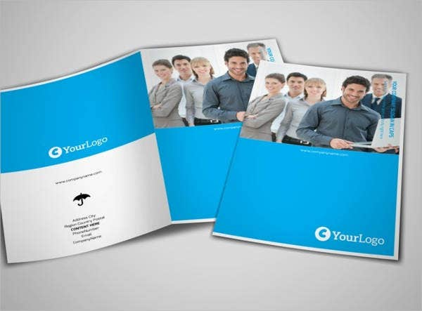 Counseling Bi-Fold Brochure Template