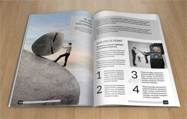 Minimal Bifold Brochure