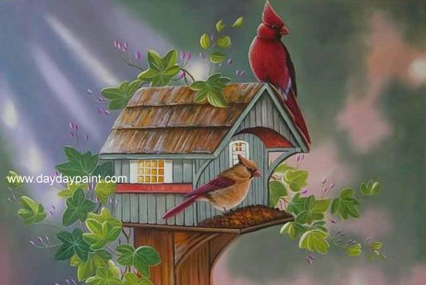 17  beautiful bird paintings
