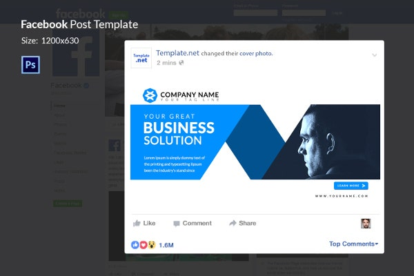 10 facebook ad templates business discount sale motivation company business facebook ad template friedricerecipe Choice Image