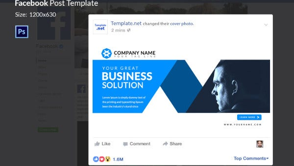 10 Facebook Ad Templates Business Discount Sale