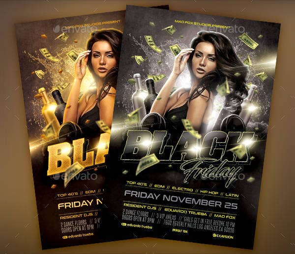 Black Friday Event Flyer