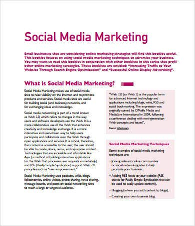 Social media marketing plan template driverlayer search for Nonprofit social media strategy template