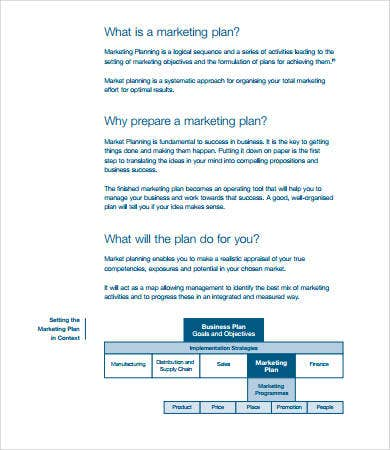 product marketing plan sample1