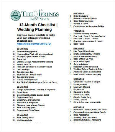 Wedding Day Timeline - 7+ Free Pdf Documents Download | Free