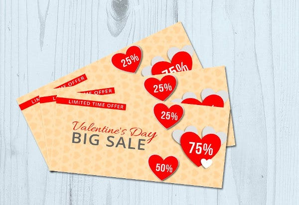 Love Coupon Card Designs