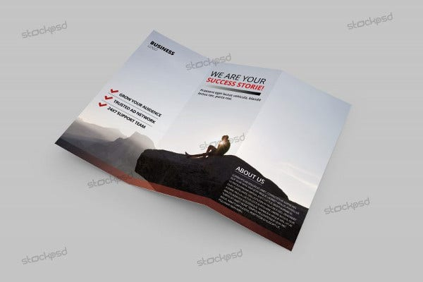Free Business Tri-Fold Brochure