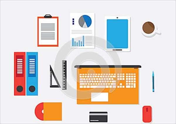 workspace vector concept