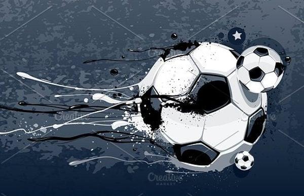 abstract-football-vector