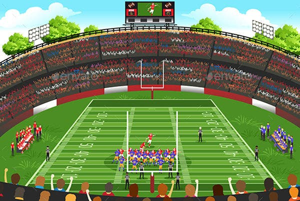 football-stadium-vector