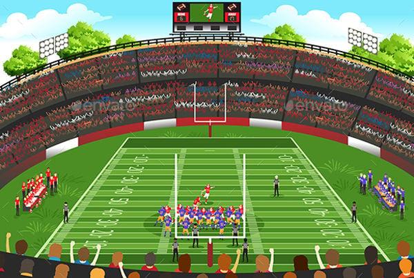 football-stadium-vector