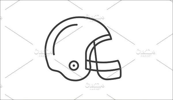 Football Helmet Vector