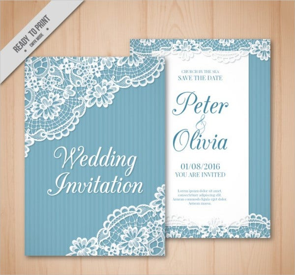 Wedding invitation card 10 free psd vector eps png format vintage wedding invitation card stopboris Choice Image