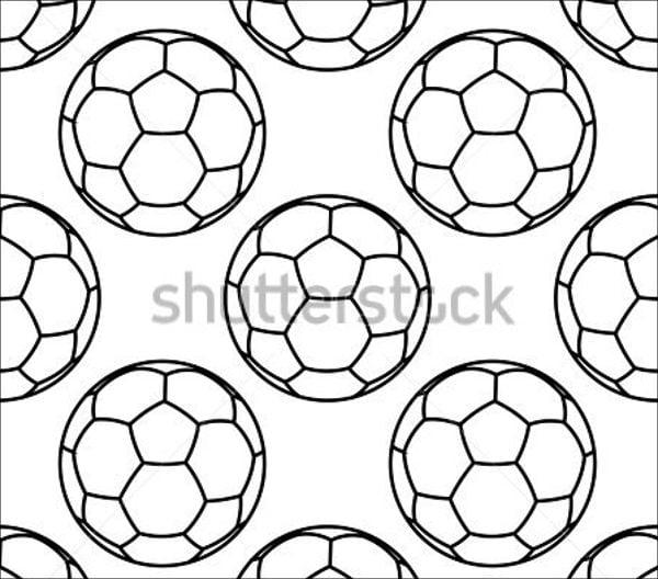 Football Outline Vector