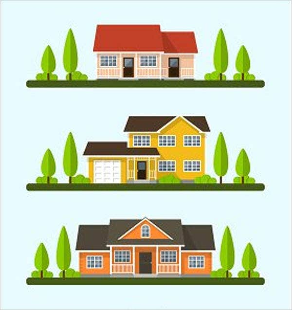 9 house vectors free premium templates rh template net house vector black house vector png