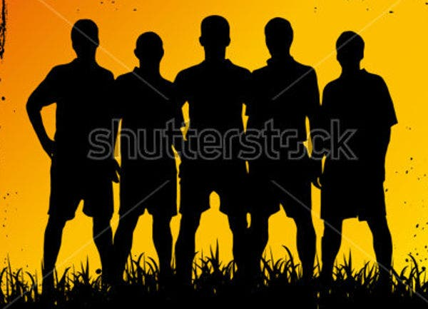 football-team-vector