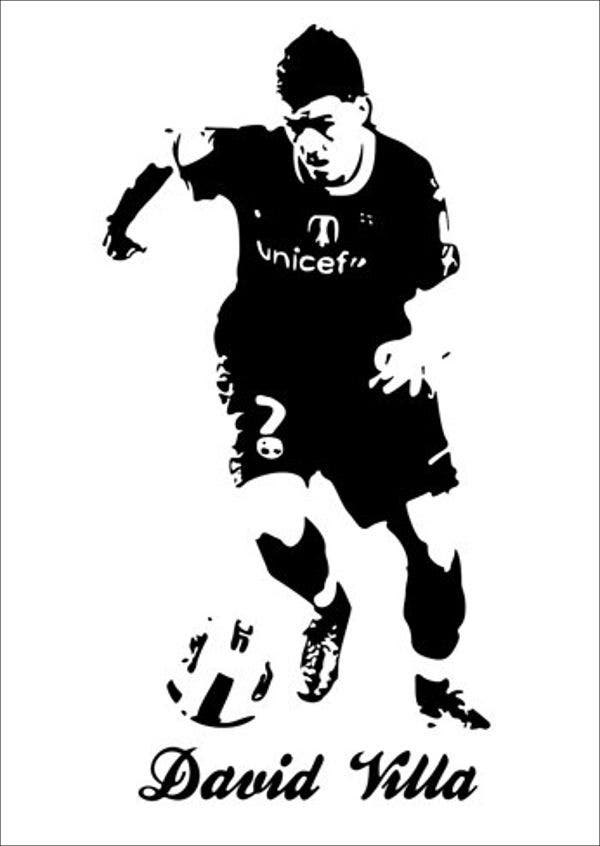 football-player-vector