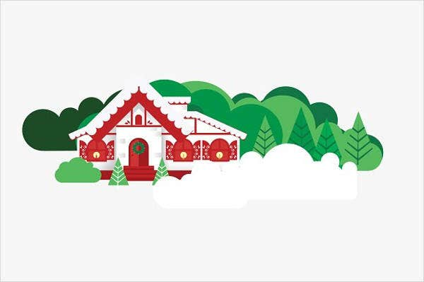 christmas-house-vector