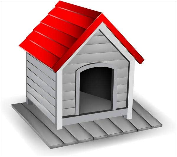 dog-house-free-vector