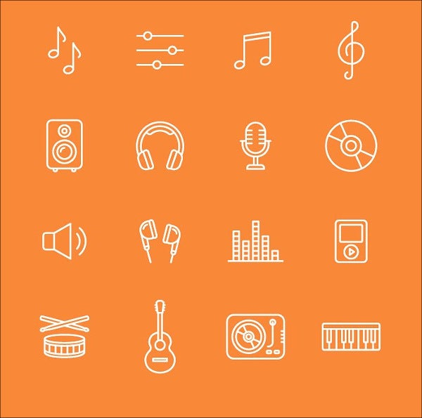 audio-music-icons
