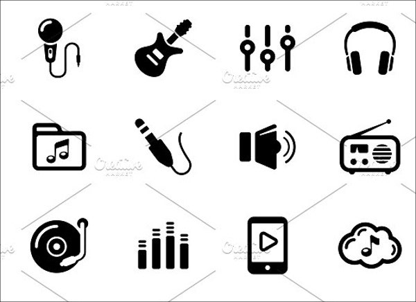 music-and-sound-icons