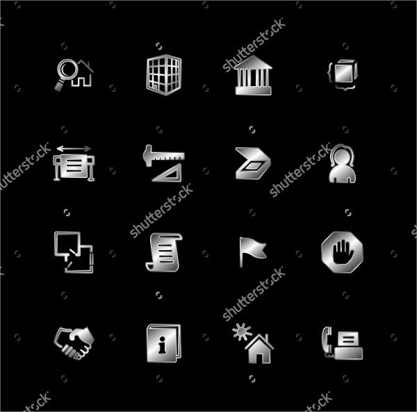 Buildings and Architecture Icons