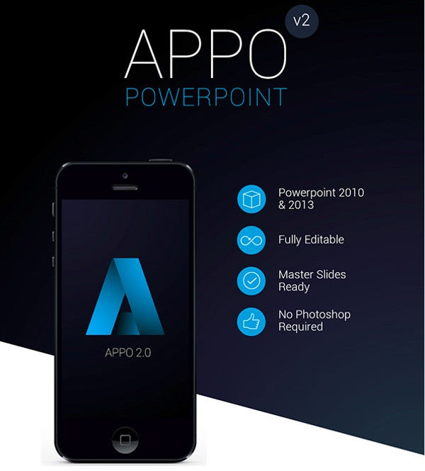 7 app presentation templates free premium templates app power point presentation template toneelgroepblik Gallery
