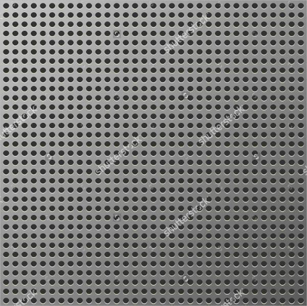 metal grid pattern