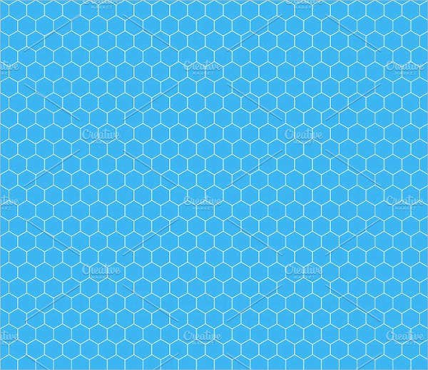 Hexagonal Grid Pattern