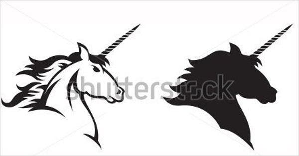 black-and-white-unicorn-silhouette