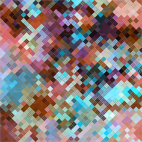 colorful square grid pattern