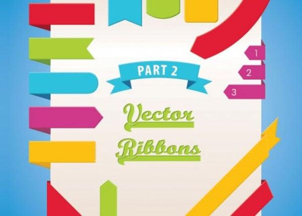 free-ribbon-psd-vector