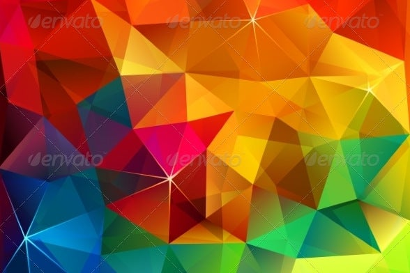 triangular-abstract-rainbow-pattern
